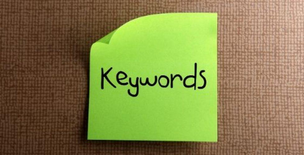 Recherche de mots clés
