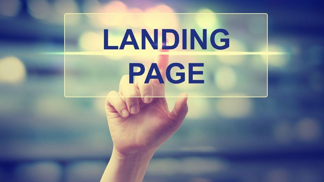 Creation landing page